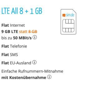o2 Handyvertrag unter 10 Euro