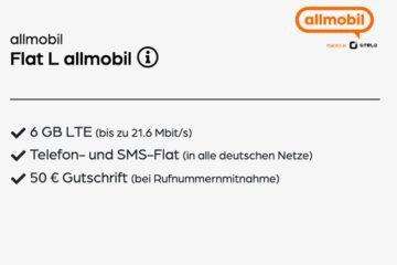 10 Euro Handytarif Vodafone allmobil