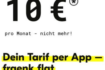 fraenk 10 Euro Handytarif